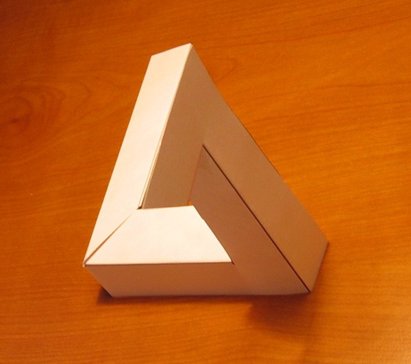 小木棍简单房子,三角形手工制作图片